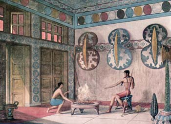 Shield Ritual room, Knossos, Crete