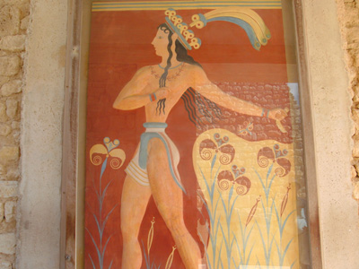 Crested Dancer, Knossos Palace