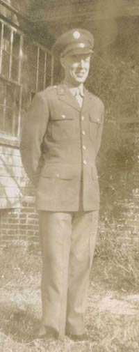 Dad during the war
