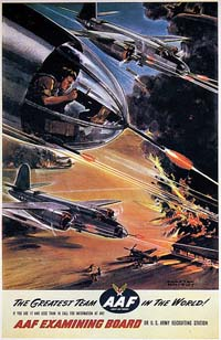 Army Air Force Marauder recuiting poster