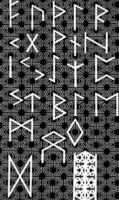 Field Fabric with Runes