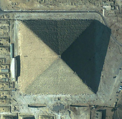 Great Pyramid from the top